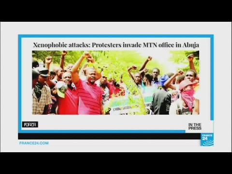 Xenophobic attacks in South Africa cause tension with Nigeria