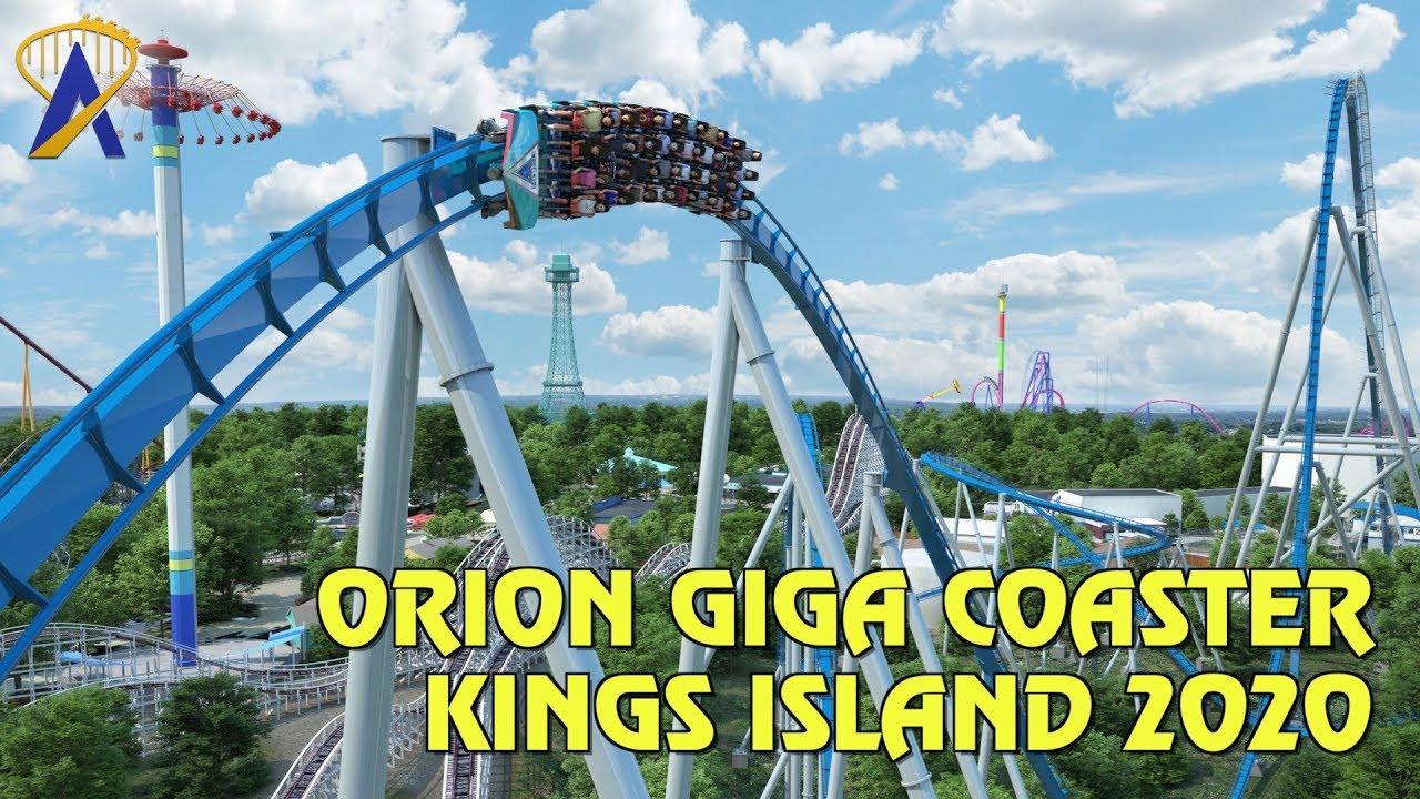 Kings Island announces Orion giga coaster for 2020