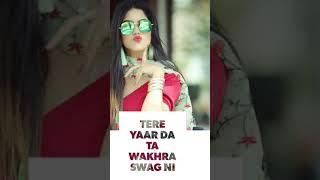 Wakhra Swag Ni   Whatsapp status   Full screen status   Judgemental Hai Kya   Download link 👇
