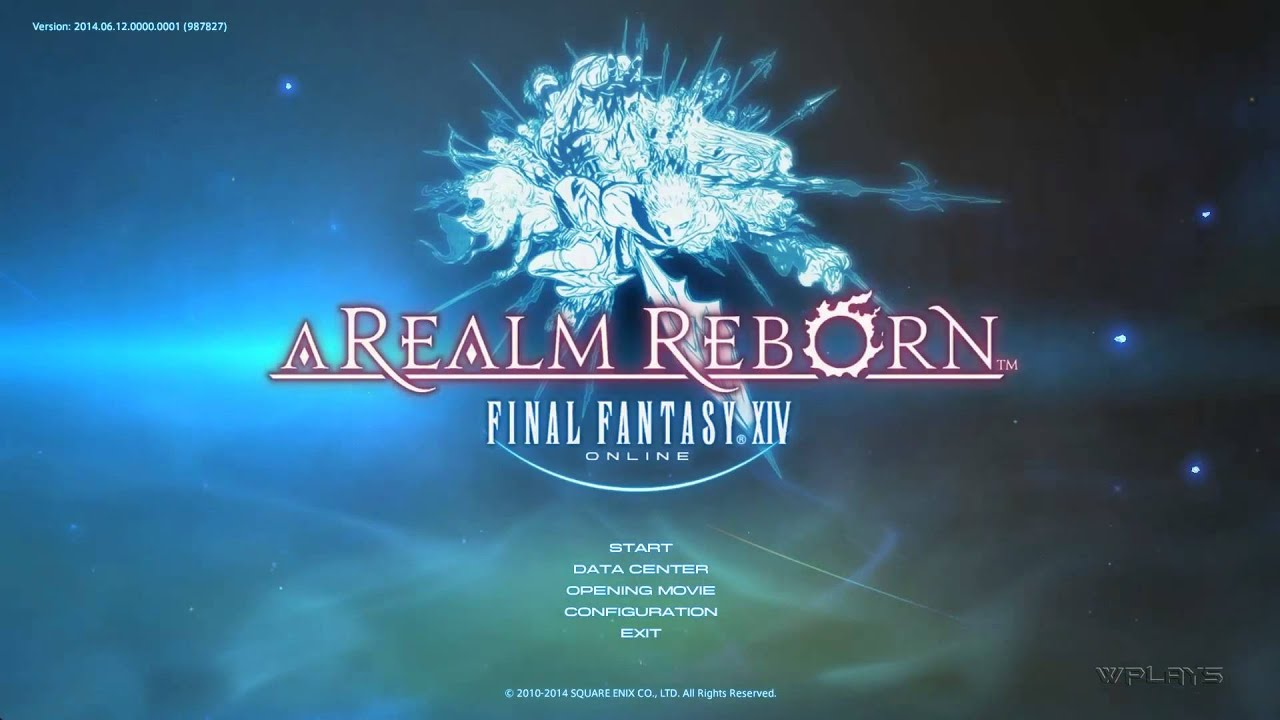 Final Fantasy Xiv A Realm Reborn Login Screen And Music Extended 1080p Hd