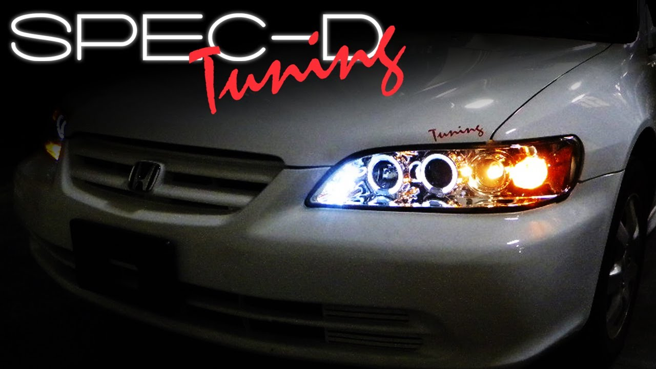 Specdtuning Installation Video 1998 2002 Honda Accord