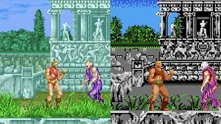 Altered Beast - All versions gameplay HD
