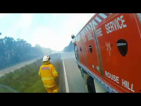 (RFS) Rural Fire Service Lone Pine Fires 2016