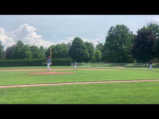 Jon Martin Throwing Strikes Michigan Braves