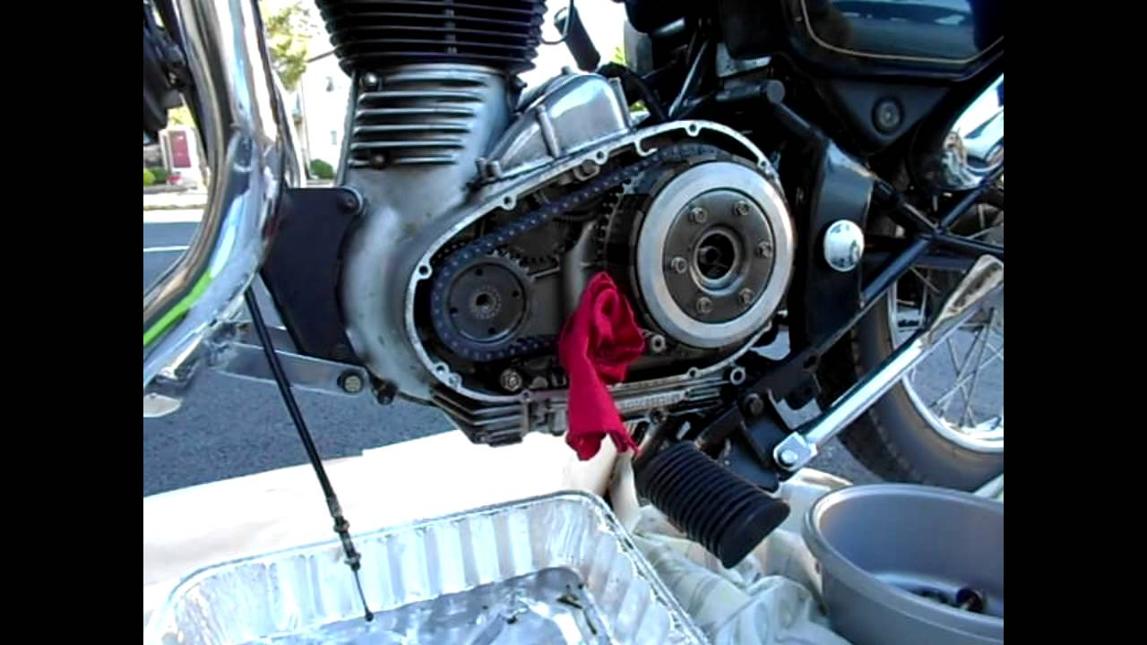 Removed Broken Sprag Clutch Of Royal Enfield Motorcycle Youtube