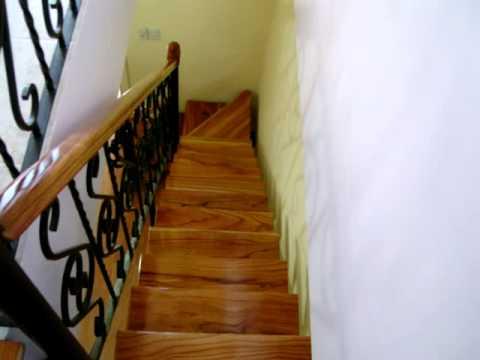 Los mejores barandales de madera - Baranda para escalera ...