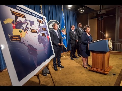 DOJ, Partners Announce Civil/Criminal Actions to Dismantle Global Mass Mailing Fraud Schemes Network