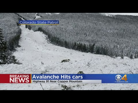 Avalanche Buries Cars, Forces Closure Of I-70