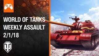 Console: World of Tanks Weekly Assault #37