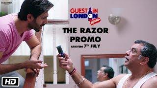 Guest iin London | The Razor Promo | Paresh Rawal, Kartik Aaryan, Kriti Kharbanda, Tanvi Azmi
