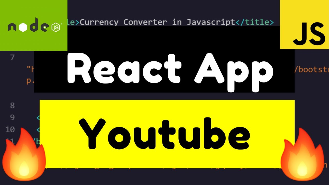 React.js Youtube Video Embed as a IFrame Using React-