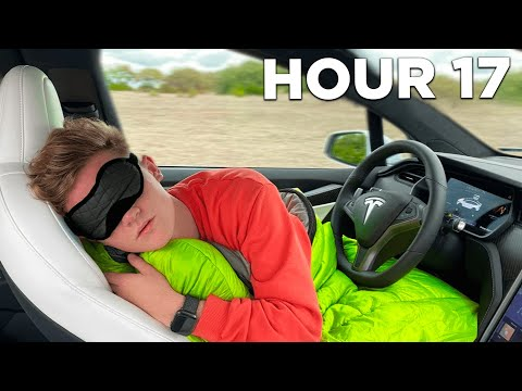 Tesla Autopilot For 24 Hours Straight!