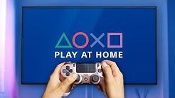 Zwei Spiele umsonst -  Play at Home!