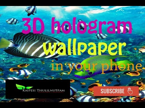 How to get amazing 3d hologram wallpapers for android - 3d hologram wallpaper ...