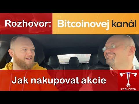 #145 Tesla Akcie s Jakub Vejmola | Bitcoinovej kanál | Teslacek