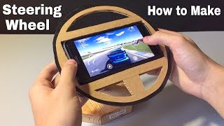 How to Make a Gaming Steering Wheel at Home - Easy to Build