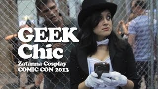 Comic Con 2013  Zatanna Cosplay! Geek Chic #017 - kill9tv