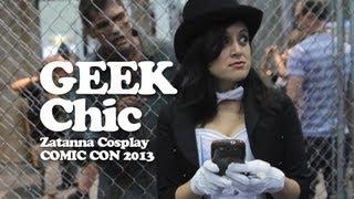Comic Con 2013  Zatanna Cosplay! Geek Chic #017 - kill9tv