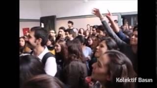 """İTÜ'lüler """"Kırmızılı Kadın""""a sahip çıktı"""