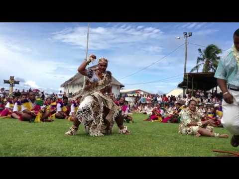 Wallisian boys dance by TEUGASIALÉ from Hihifo of Wallis Island