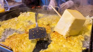 부산 명물 토르 망치 토스트 1,400원 Thor's hammer toast / Korean street food