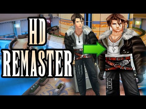 FF8 HD Remaster: Make Final Fantasy VIII Look Better Than You've Ever Seen