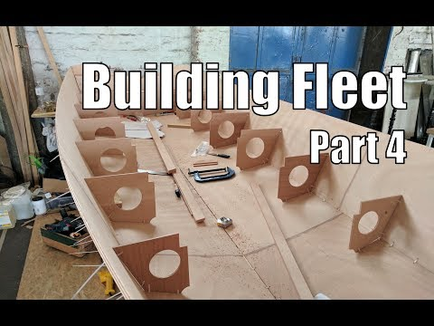 Building Fleet, a small wooden boat #4