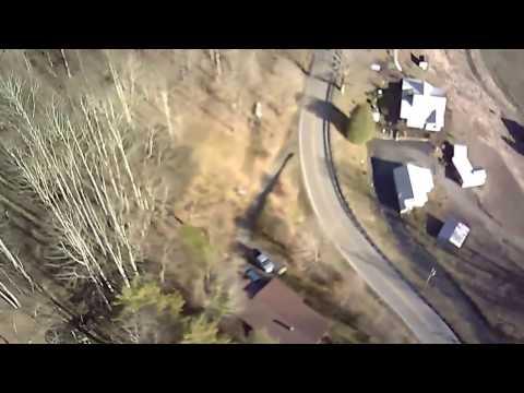 Drone footage of Beech Bottoms Avery County North Carolina