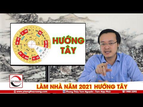 Làm Nhà Năm 2021 HƯỚNG TÂY - Vận Khí Nhà Hướng Tây Năm 2021 Và Lưu Ý Phong Thủy Khi Động Thổ