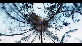 Видео 360: лесные пожары в Чили с борта самолёта МЧС России