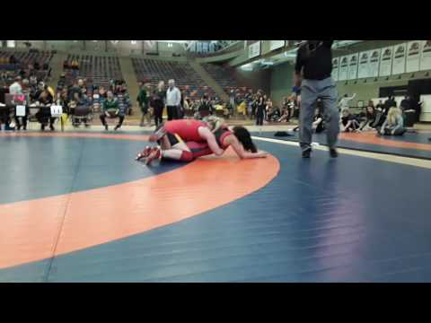 2016 Dino Invitational: 63 kg Taylor Cartwright vs. Alicia Kaegi