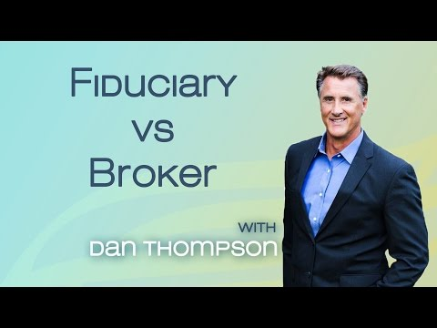 Fiduciary Vs Broker - Paying Fees Forever - Fiduciary Rule Explained