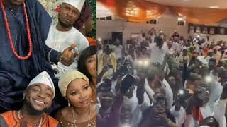 Davido attends his driver's wedding and entertains guests with a performance - YouTube