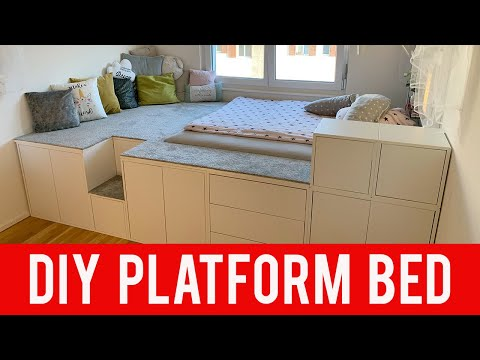 IKEA DIY HACK | Platform Bed
