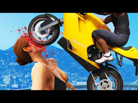 GTA 5 FAILS - #4 (GTA 5 Funny Moments...