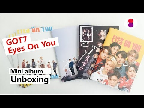 Got7 Eyes On You Unboxing 8th Mini Album  갓세븐 미니앨범 ガットセブン
