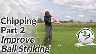 Chipping Ball Striking Drill - How to Improve Consistency in Golf