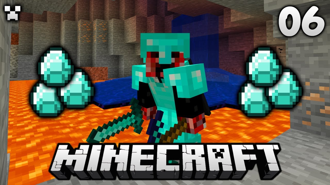 Luckiest Caves EVER?!   Let's Play Minecraft Survival Ep.6