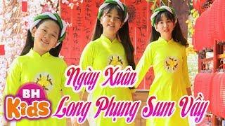 NGÀY XUÂN LONG PHỤNG SUM VẦY ♫ Nhạc Tết Thiếu Nhi 2020 ♫ Quý Dương - Minh Thư - Thảo Nguyên