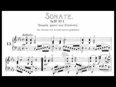 "Beethoven: Sonata No.13 in E-flat Major, ""Quasi una fantasia"" (Korstick, Lortie, Goode)"