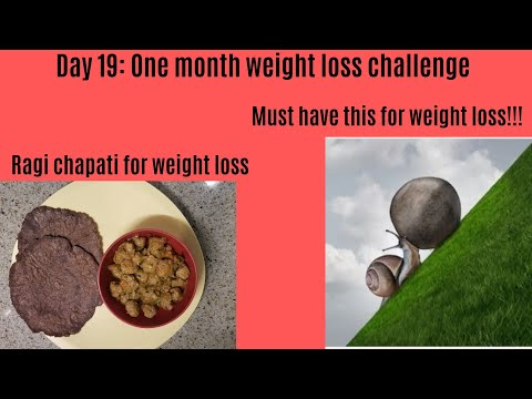 day-19:-one-month-weight-loss-challenge-|-must-have-for-weight-loss-|-ragi-chapati-for-weight-loss