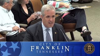 City of Franklin BOMA Work Session 7-10-2018
