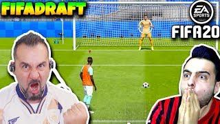 FIFA 20 AMA PESDRAFT MODUNU OYNUYORUZ! | FIFA 20 SESEGEL VS ÜMİDİ