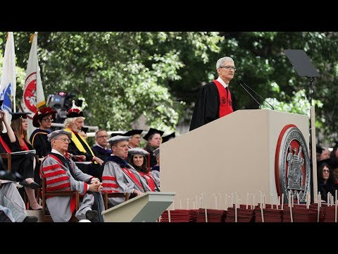 Tim Cook's MIT Commencement Address 2017