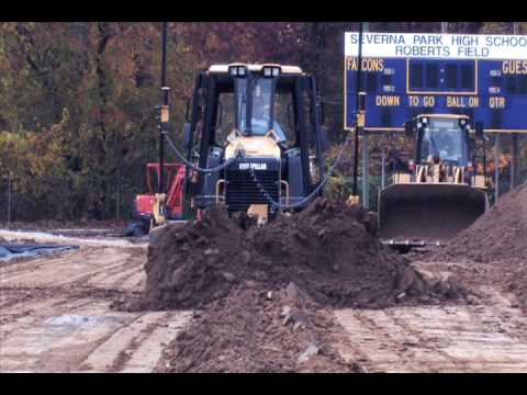 Base Construction For Synthetic Turf Sports Fields By Sunny Acres Sports Systems