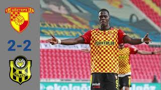 Goztepe 2 2 Yeni Malatyaspor TURKEY Super Lig 04 02 2021 Match statistic