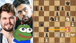 Enough With The Scrambled Pieces || Nakamura vs Carlsen || Saint Louis Rapid and Blitz (2020)