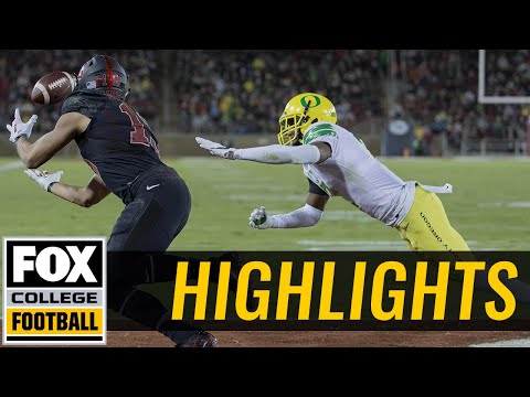 Oregon vs Stanford | Highlights | FOX COLLEGE FOOTBALL