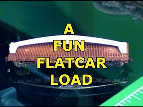 MODEL RAILROAD IDEA FUN FLATCAR LOAD WINDSHIELD WIPER ARM PART