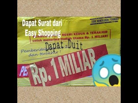 Dapet Hadiah 1m Dari Easy Shopping Beneran Atau Penipuan Gaes